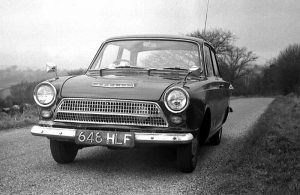Indie Author and the Ford Cortina